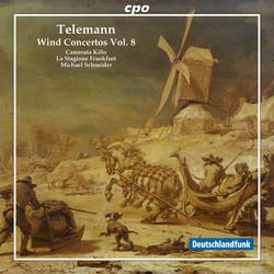 Telemann: Wind Concertos, Vol. 8