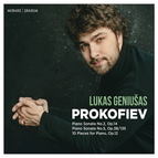 Sergey Prokofiev: Piano Sonata No. 2, Op. 14 & No. 5, Op. 38/135 - 10 Pieces for Piano, Op. 12
