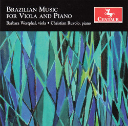 Brazilian Music for Viola and Piano