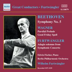 Beethoven: Symphony No. 5 / Wagner: Parsifal Prelude (Furtwangler) (1937-1939)