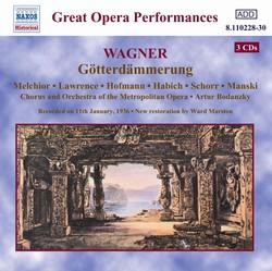 Wagner, R.: Gotterdammerung (Ring Cycle 4) (Metropolitan Opera) (1936)
