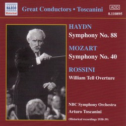 Haydn: Symphony No. 88 / Mozart: Symphony No. 40 (Toscanini) (1938-1939)
