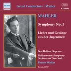Mahler: Symphony No. 5 / Lieder Und Gesange Aus Der Jugendzeit (Walter) (1947)