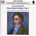 Schubert: Lied Edition  4 - Mayrhofer, Vol.  1