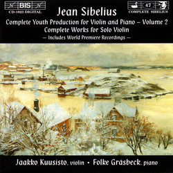 Sibelius - Complete Youth Production for Violin and Piano, Vol.2