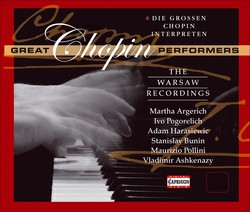 The Great Chopin Performances