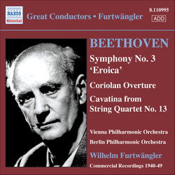 Beethoven: Symphony No. 3 / Coriolan Overture