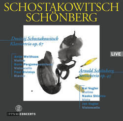 Shostakovich: Piano Trio No.2 Op.67 / Schoenberg: String Trio Op.45 (1946)