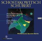 Shostakovich: String Quartet Op.122 / Schubert: String Quartet D 887 / Philharmonia Quartet Berlin
