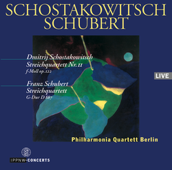 Shostakovich: String Quartet Op.122 / Schubert: String Quartet D 887 / Philharmonia Quartet Berlin