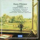 Pfitzner: Lieder (Complete Edition, Vol. 4)