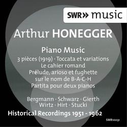 Honegger: Piano Music