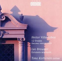 Villa-Lobos, H.: 12 Etudes / Brouwer, L.: Estudios Sencillos