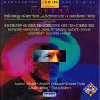 Goethe Lieder - Settings of Erlkonig, Gretchen Am Spinnrade, and Gretchen's Ruhe