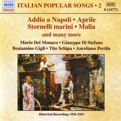 Italian Popular Songs, Vol. 2 (1926-1953)