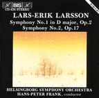 Larsson - Symphonies No.1 and No.2