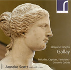 Solo works for horn by Jacques-Francois Gallay