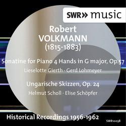 Volkmann: Sonatina for Piano 4 Hands - Ungarische Skizzen