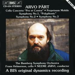 Pärt - Cello Concerto and Symphonies No.1, No.2 and No.3