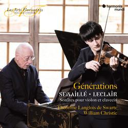 Senaillé & Leclair : Sonatas for Violin and Harpsichord