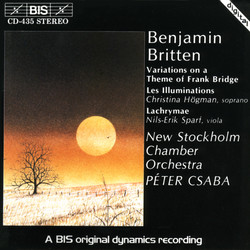 Britten - Variations on a Theme of Frank Bridge