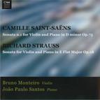 Saint-Saëns: Violin Sonata No. 1 in - Strauss: Violin Sonata in E flat major, Op. 18