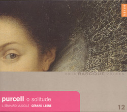 Purcell, H.: Vocal and Chamber Music