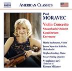 Moravec: Violin Concerto, Shakuhachi Quintet, Equilibrium & Evermore