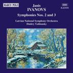 Ivanovs: Symphonies Nos. 2 and 3