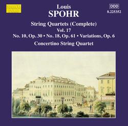 Spohr: String Quartets, Vol. 17