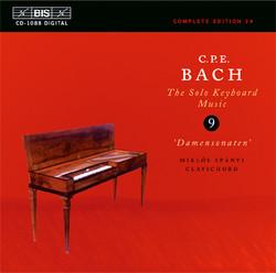 C.P.E. Bach: Solo Keyboard Music, Vol. 9