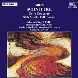 Schnittke: Cello Concerto / Stille Musik / Cello Sonata