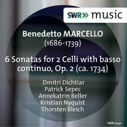 Marcello: 6 Sonatas for 2 Cellos, Op. 2