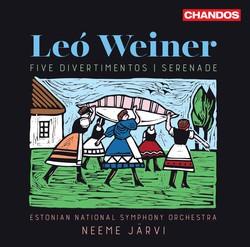 Weiner: Serenade in F Minor, Op. 3 & 5 Divertimentos (Live)