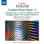 Togni: Complete Piano Music, Vol. 3