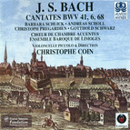 Bach: Cantatas - BWV 6, 41 & 68