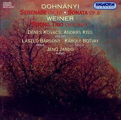 Dohnanyi / Weiner: Chamber Music