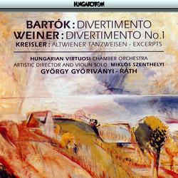 Bartok: Divertimento for Strings / Kreisler: Works Arranged for Violin and Orchesta
