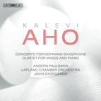 Aho - Saxophone Concerto and Quintet