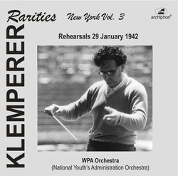 Klemperer Rarities, Vol. 3 (1942)