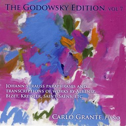 Godowsky, L.: Godowsky Edition (The), Vol. 7 - Johann Strauss Paraphrases and Transcriptions of Works by Albeniz, Bizet, Kreisler, Saint-Saens, etc.