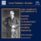 Kreisler: The Complete Recordings, Vol. 6
