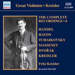 Kreisler: The Complete Recordings, Vol. 6