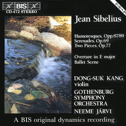 Sibelius -Six Humoresques, Op.87 and 89