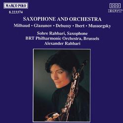 Milhaud: Scaramouche / Glazunov: Saxophone Concerto / Ibert: Concertino Da Camera
