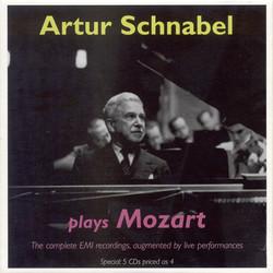 Mozart, W.A.: Piano Concertos Nos. 13, 17, 19-24 and 27 / Piano Sonatas Nos. 8, 12 and 15 (Schnabel) (1934-1947)