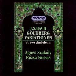 Bach: Goldberg Variations, Bwv 988 (Arr. for 2 Cimbaloms)