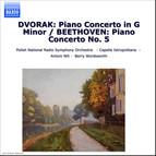 Dvorák: Piano Concerto in G Minor / Beethoven: Piano Concerto No. 5,