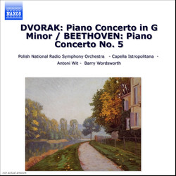 Dvorák: Piano Concerto in G Minor / Beethoven: Piano Concerto No. 5,