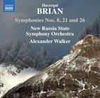 Brian: Symphonies Nos. 8, 21 & 26